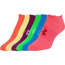 Under Armour Big Girls 6-pk. Bright Liner Socks