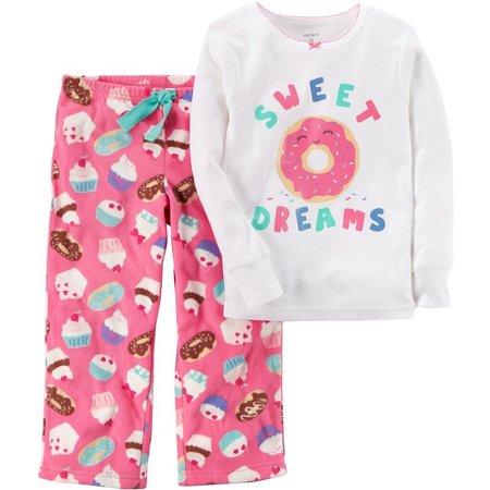 Carters Little Girls Sweet Dreams Pajama Set