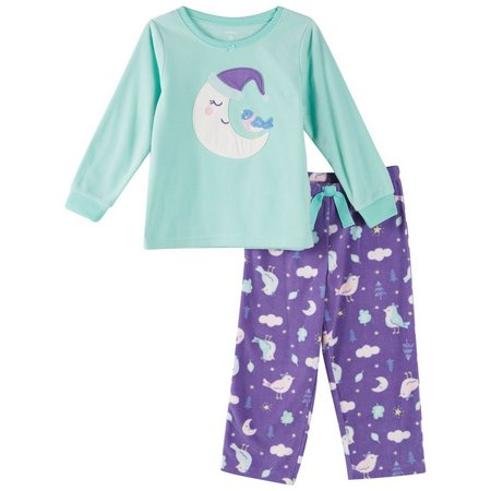 Carters Toddler Girls Sleepy Moon Pajama Set