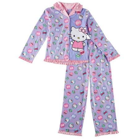 Hello Kitty Big Girls Dots Pajama Set
