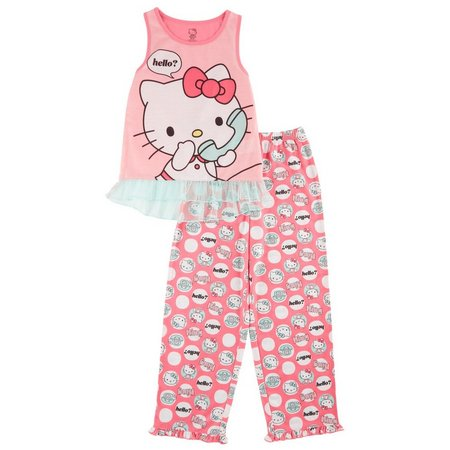 Hello Kitty Little Girls Hello Pajama Set