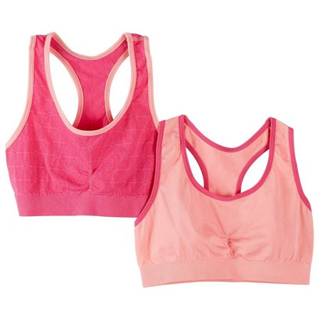 C&C California Little Girls 2-pk. Sport Bras