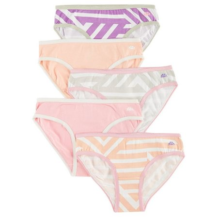 C&C California Little Girls 5-pk. Stripe Panties