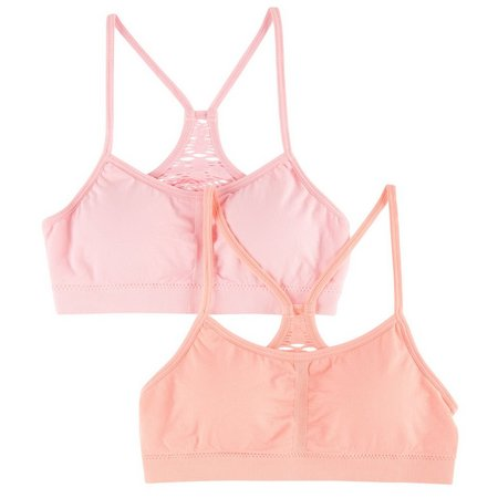 C&C California Big Girls 2-pk. Grace Sport Bras