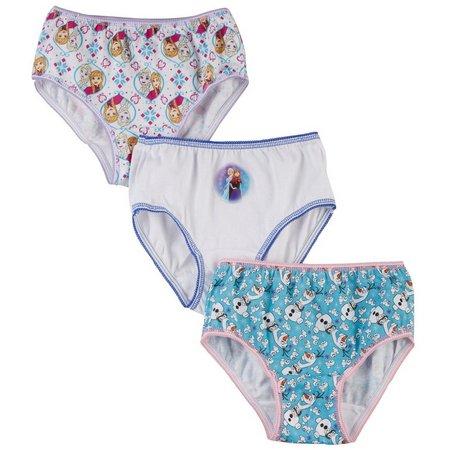 Disney Frozen Girls 3-pk. Brief Panties