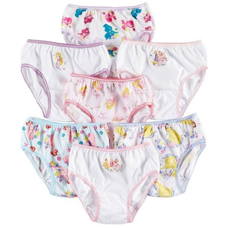 Disney Princess Girls 7-pk. Brief Panties