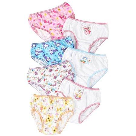 My Little Pony Girls 7-pk. Brief Panties