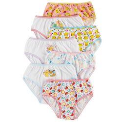 Pokemon Little Girls 7-pk. Brief Panties