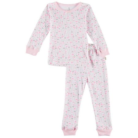 Duck Duck Goose Toddler Girls Bunny Pajama Set