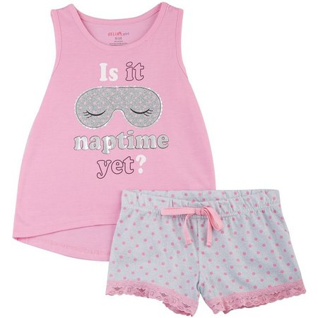 Delias Little Girls Naptime Pajama Set