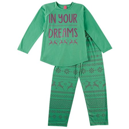 HPI Apparel Big Girls In Your Dreams Pajama