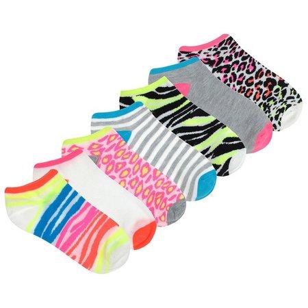 Capelli Little Girls 7-pk. Animal Ankle Socks