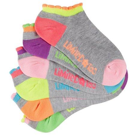 New! Limited Too Girls 6-pk. Low Cut Socks