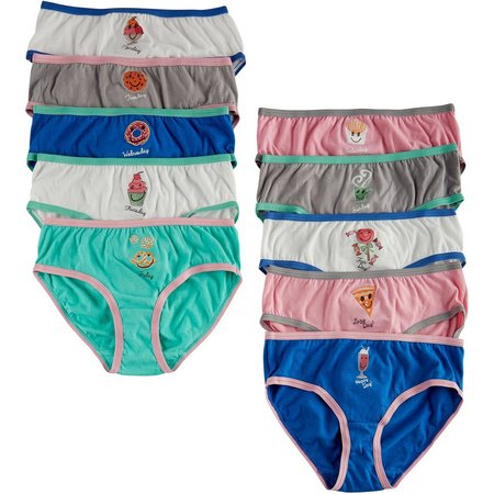 Maidenform Little Girls 10-pk. Day Brief Panties