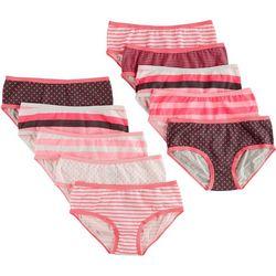 Maidenform Big Girls 10-pk. Print Hipster Panties