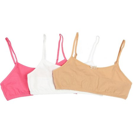 Maidenform Girls 3-pk. Bralettes