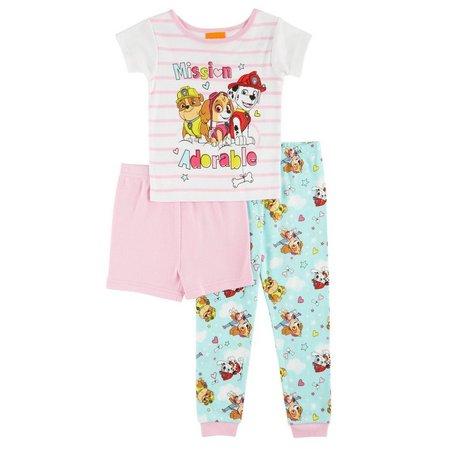 Nickelodeon Paw Patrol Toddler Girls Pajama Set
