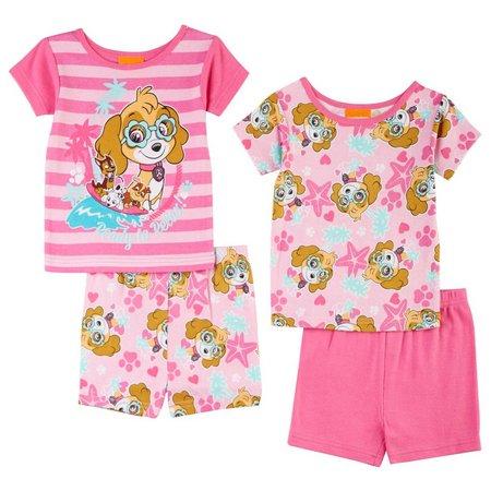 Nickelodeon Paw Patrol Toddler Girls 4-pc. Pajamas