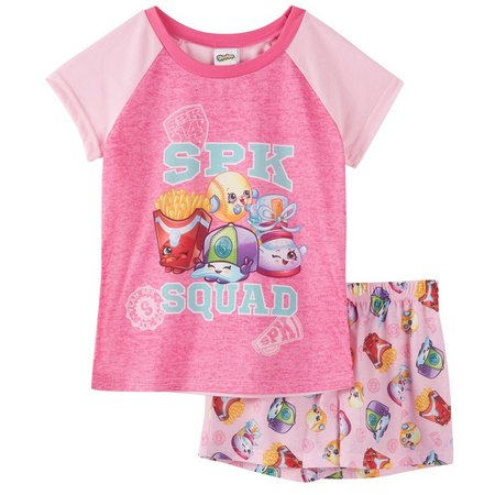 Shopkins Big Girls Squad Pajama Set