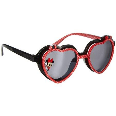Disney Minnie Mouse Girls Flip-Up Sunglasses