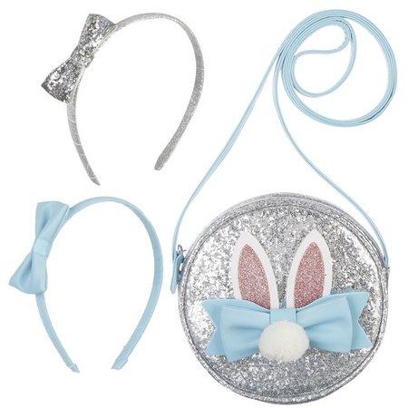Fantasia Girls 3-pc. Bunny Purse and Headbands Set