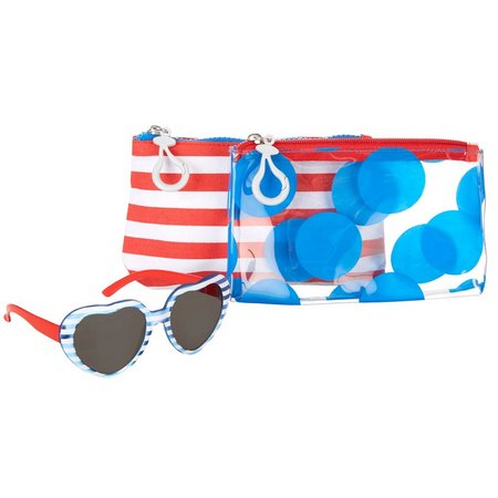 On The Verge Girls 3-pc. Sunglasses and Case