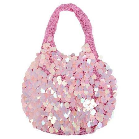 Capelli Girls Sequin Hobo Handbag