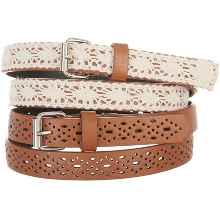 Amici Girls 2-pk. Crochet Belts