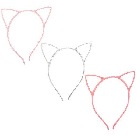 Danbar Girls 3-pk. Cat Ears Headbands