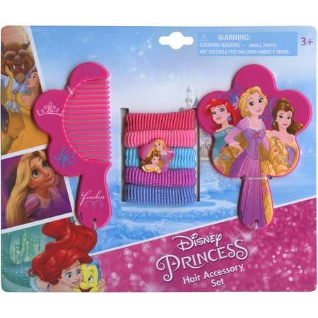 Disney Princess Girls Hair Accessory Set