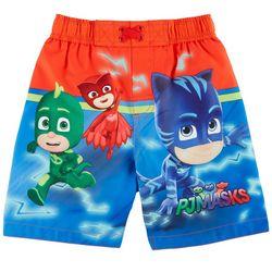 Nickelodeon Toddler Boys PJ Masks Swim Trunks