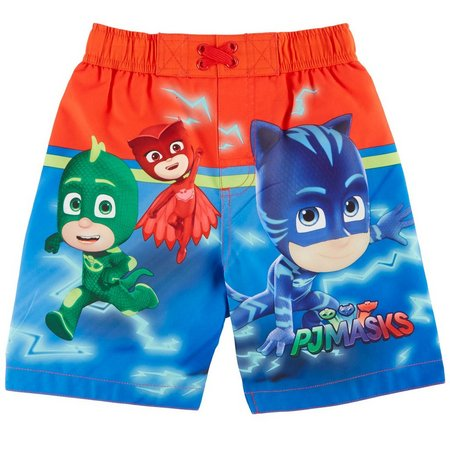 Disney PJ Masks Toddler Boys Swim Trunks