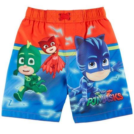 Disney PJ Masks Toddler Boys Swim Trunks
