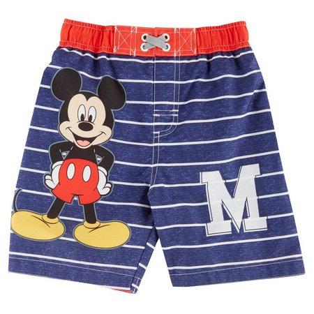 Disney Mickey Mouse Baby Boys Swim Trunks