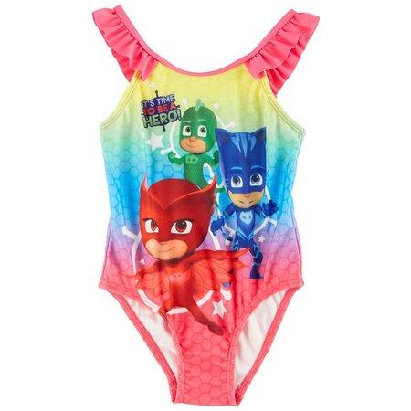 Disney PJ Masks Toddler Girls Swimsuit