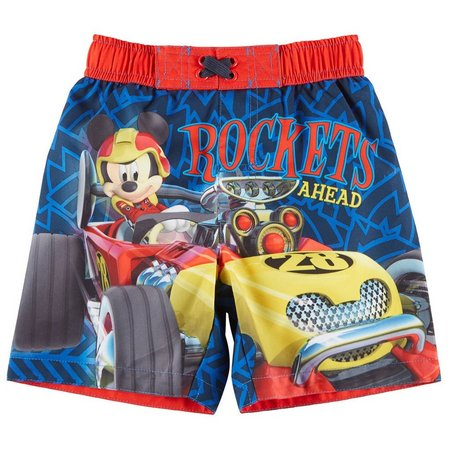 Disney Mickey Mouse Toddler Boys Roadster Racers Swim
