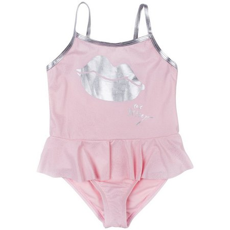 Betsey Johnson Toddler Girls Sparkle Swimsuit