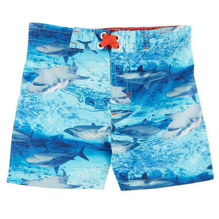 Mick Mack Baby Boys Shark Swim Trunks