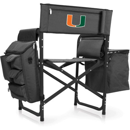 Miami Hurricanes Fusion Chair by Picnic Time
