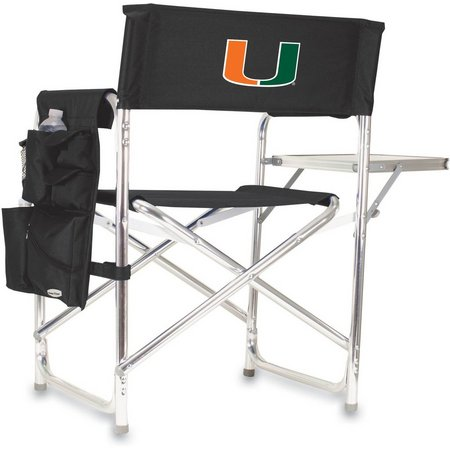 Miami Hurricanes Sports Chair by Picnic Time