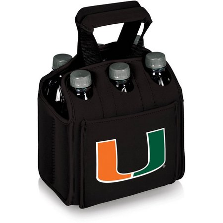 Miami Hurricanes Six Pack Carrier by Picnic Time