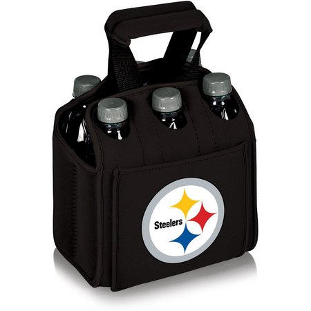 Pittsburgh Steelers 6 Pack Carrier by Picnic Time