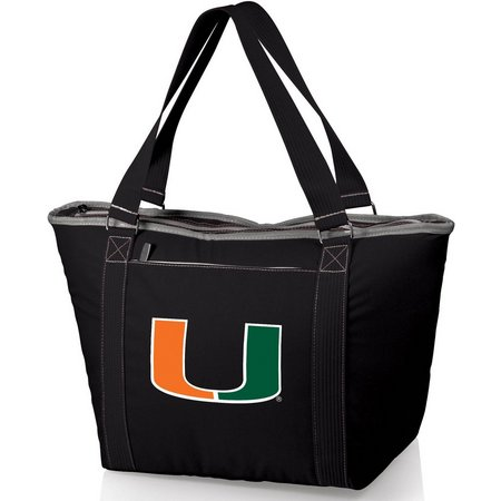 Miami Hurricane Topanga Cooler Tote by Picnic Time