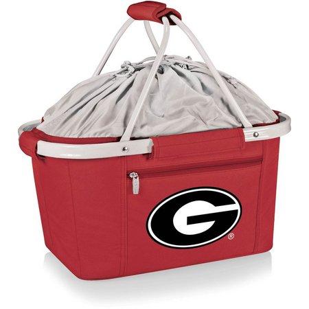 Georgia Bulldogs Metro Basket Tote by Picnic Time