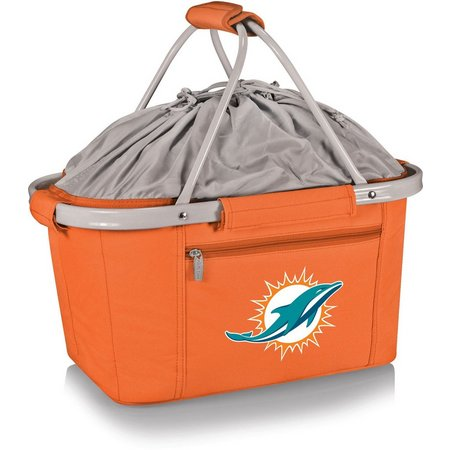 Miami Dolphins Metro Basket Tote by Picnic Time