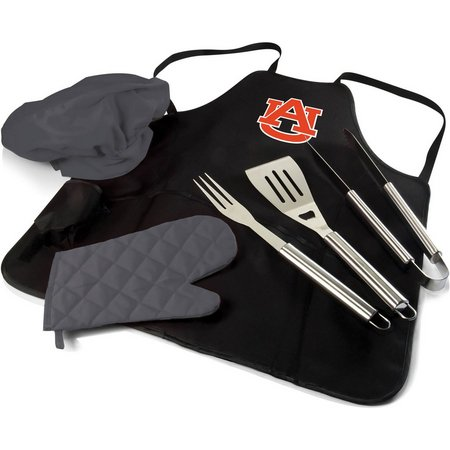 Auburn BBQ Apron Tote Pro by Picnic Time