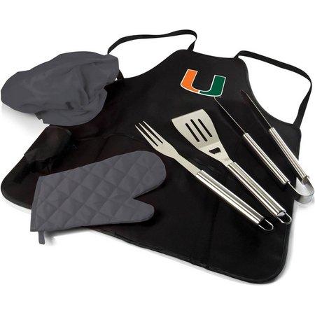 Miami Hurricanes BBQ Apron Tote Pro by Picnic