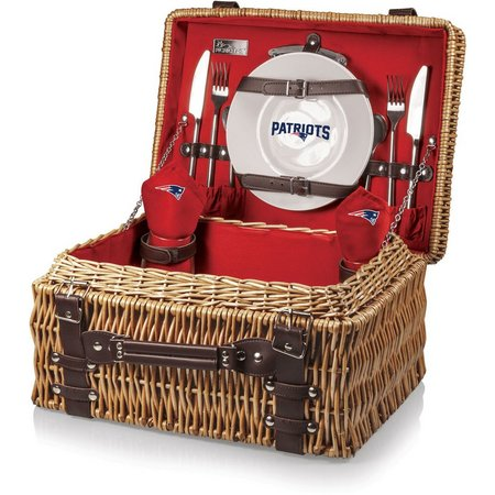 New England Patriots Picnic Basket by Picnic Time