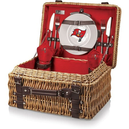 Tampa Bay Buccaneers Picnic Basket by Picnic Time