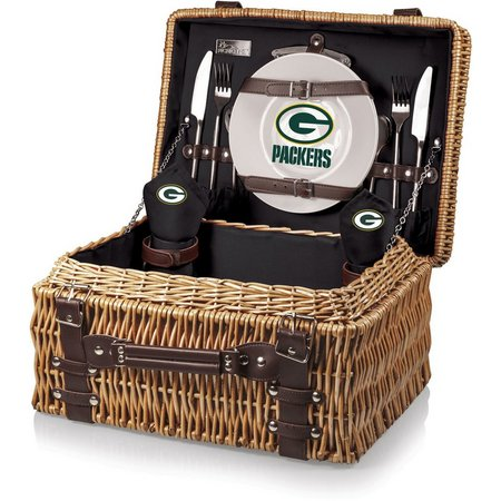 Green Bay Packers Picnic Basket by Picnic Time